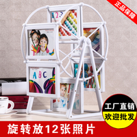 Per il Nuovo Anno immagine ricordi 4 5 rotante mulino a vento foto cornice altalene combinazione photo album bambino wedding photo frame box