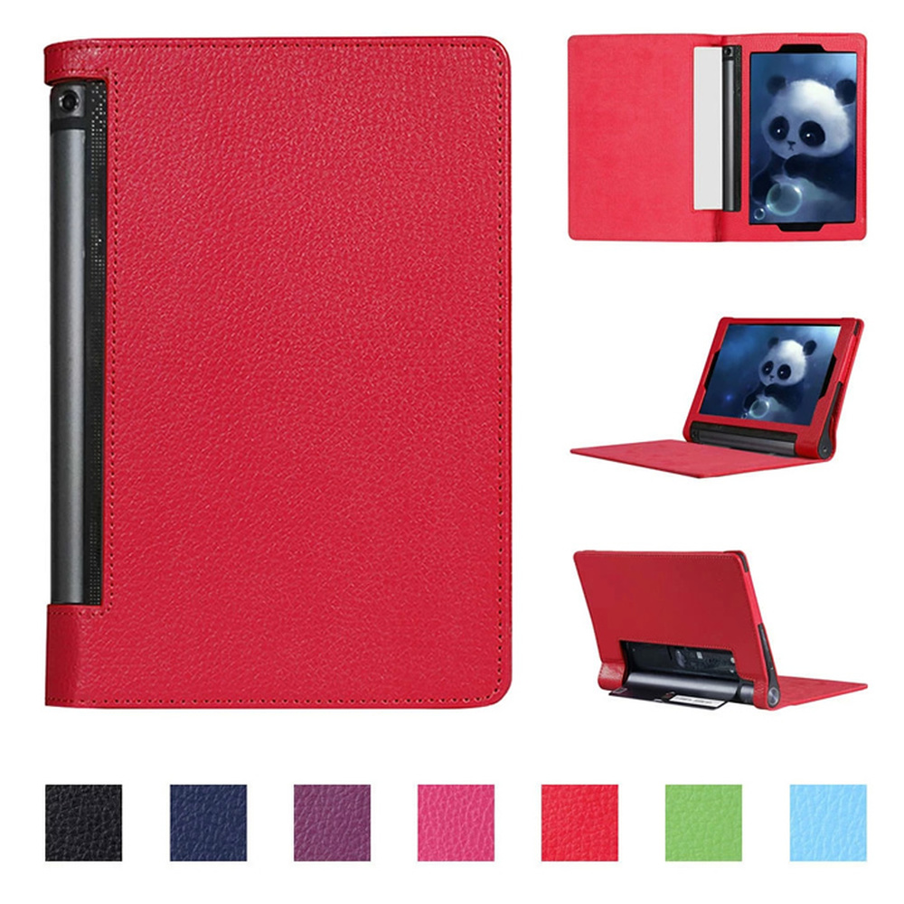 Flip Flio Pu Leather Case Cover For Lenovo Yoga Tab 3 Pro 10.1 YT3-X90F X90L Tab3 Plus YT-X703f X703L Tablet Pc funda Capa glass