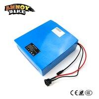 Бесплатная доставка перезаряжаемый 60 V 20Ah Аккумулятор литиевый Электрический велосипед MTB батарея 60 V для 1000 w 1500 W мотор с 67,2 v 3A зарядное устр