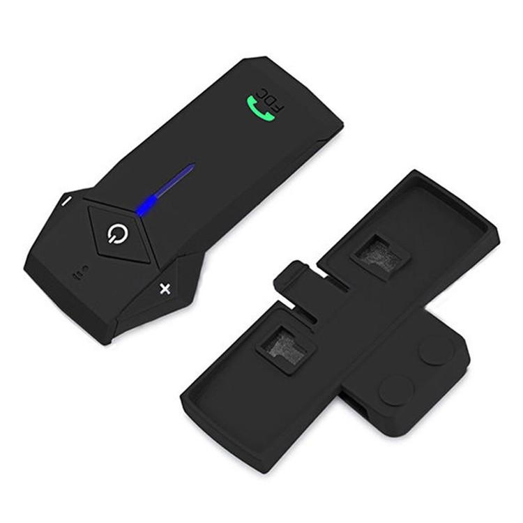 Bluetooth Motorcycle Helmet Intercom Support NFC BT Moto Interphone  Hand-free Headsets Intercomunicador with FM Radio for Skiing (9)
