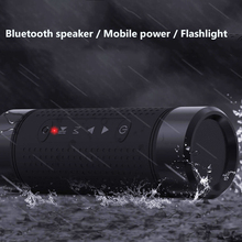 outdoor portable bluetooth speaker with waterproof dustproof lighting effect Bluetooth wireless