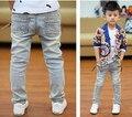 Nova chegada da primavera outono 2017 crianças verão crianças meninos adolescentes adolescentes designer denim jeans calças calças varejo frete grátis