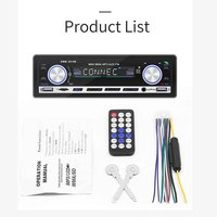 HD LCD Screen Auto Media MP3 Player 2.1A Dual USB Bluetooth Audio Car Radio Multimidia Support Hands free call FM Transmitter
