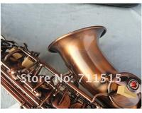 Be Sure To Watch Very Beautiful Red Archaize Copper Alto Saxophone