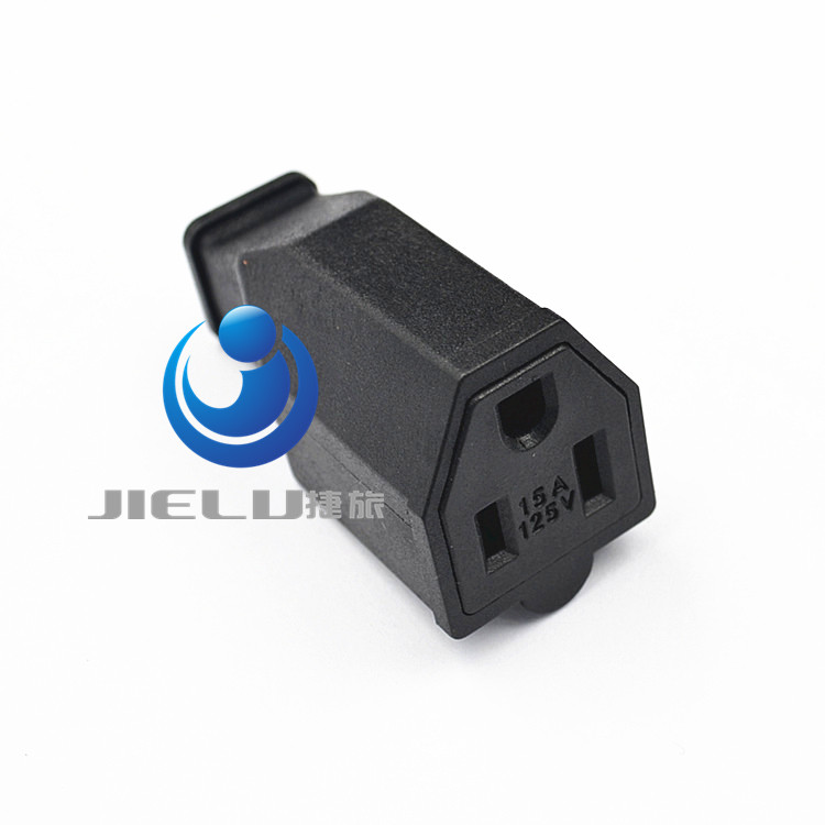Usa pin female connector ac a v us plug