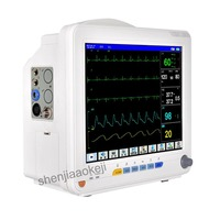 Commercial Multi Parameter ECG Monitor Intensive Operating Room Ambulance Monitor Home 110v 220v 750w 1pc