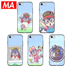 MA Japanese cartoon Arale Phone Case For IPhone 7 8 Plus XS Max XR Cases For IPhone X 8 7 6 6S Plus 5 SE Soft TPU Cover