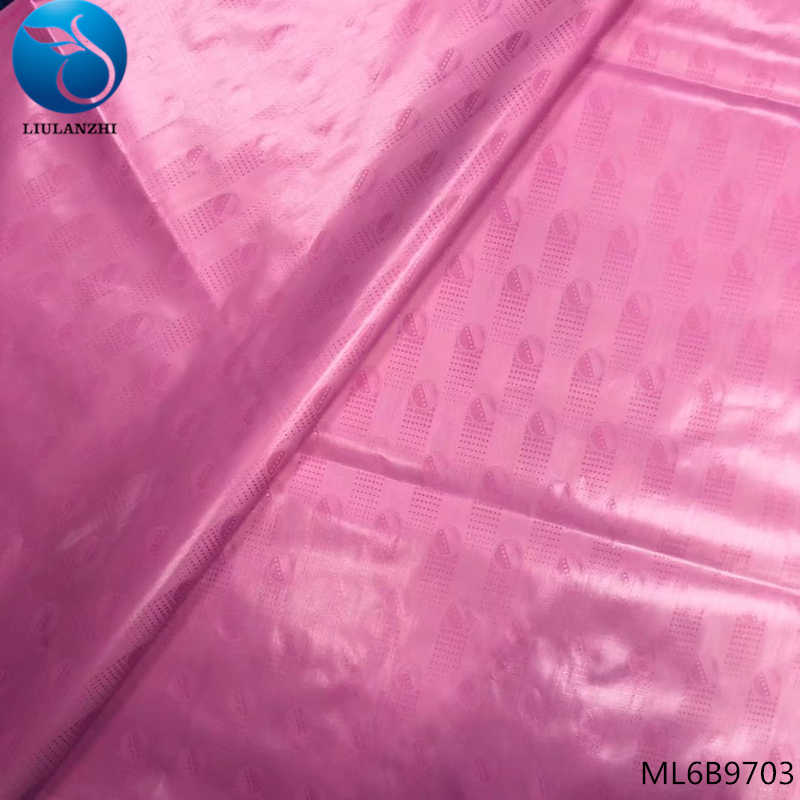 LIULANZH africano 10 metri bazin tessuto 2019 di nuovo disegno bazin riche getzner per i vestiti tessuto africano ML6B97