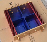 NH 108B полный Алюминий усилитель мощности шасси AMP Корпус/коробка 440*410*150 мм