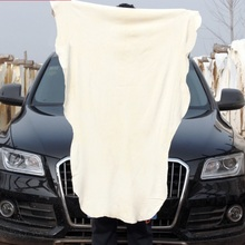 Home Garden - Household Cleaning Tools  - Drying Cleaning Towel Natural Genuine Leather Chamois Shammy Sponge Cloth Sheepskin Absorbent Towel Car Washing Car Care