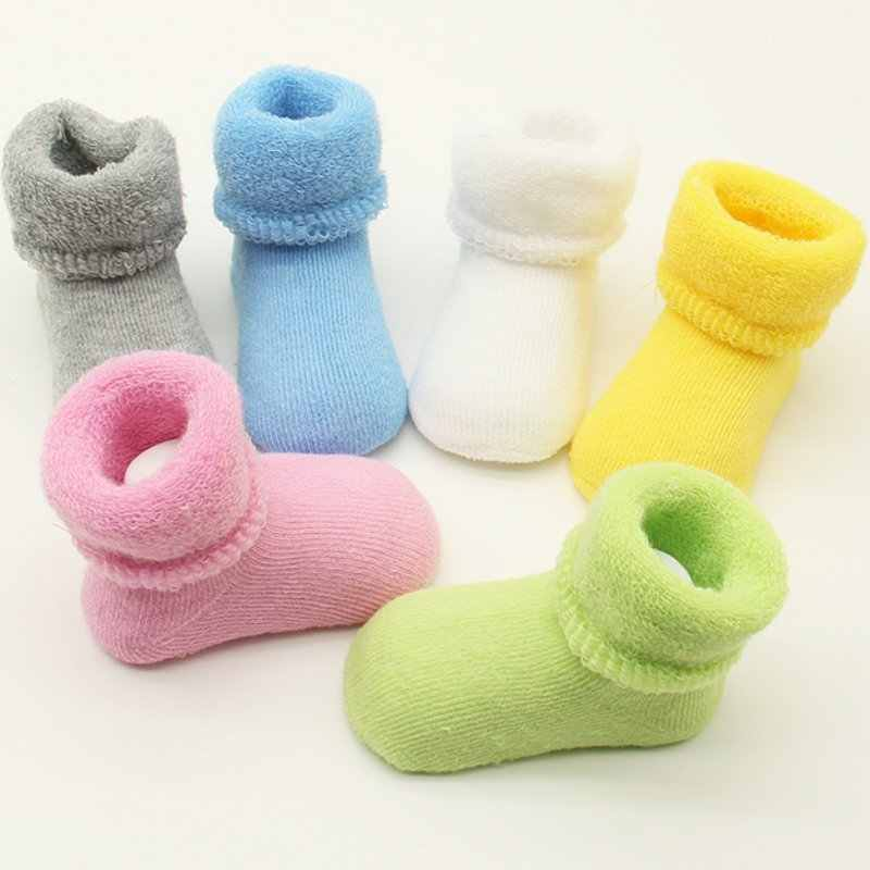 Baby Meisjes Pasgeboren Baby Winter Warme Laarzen Peuter Kinderen Zachte Katoenen Sokken Laarsjes Crib Schoenen