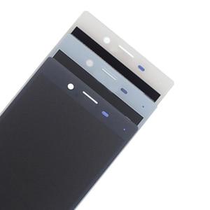 Image 5 - Yüksek kaliteli SONY X MINI çerçeveli lcd ekran digitizer için SONY için montaj Xperia X Kompakt F5321 ekran aksesuar yedek