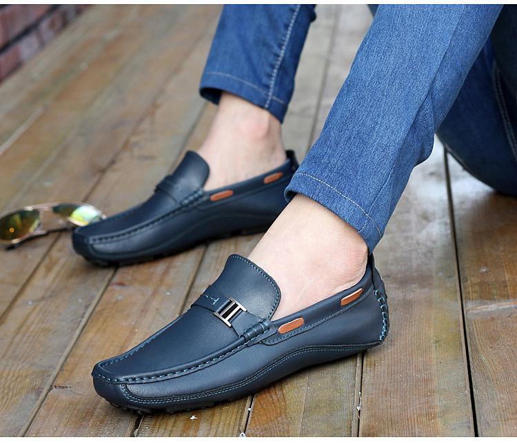 HN 1128 (5) Men`s Casual Loafers Shoe