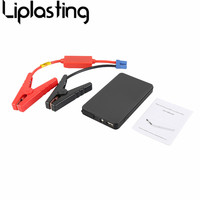 Portable Black Mini Size 10000mAh 12V Car Jump Starter Mini Emergency Charger Battery Booster Power Bank