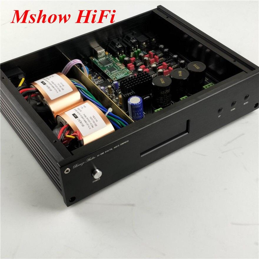2018 NUOVO ES9038 ES9038PRO DAC Decoder HIFI Audio DSD + opzione AD797 MUSES8920 + opzione Amanero USB o XMOS XU208