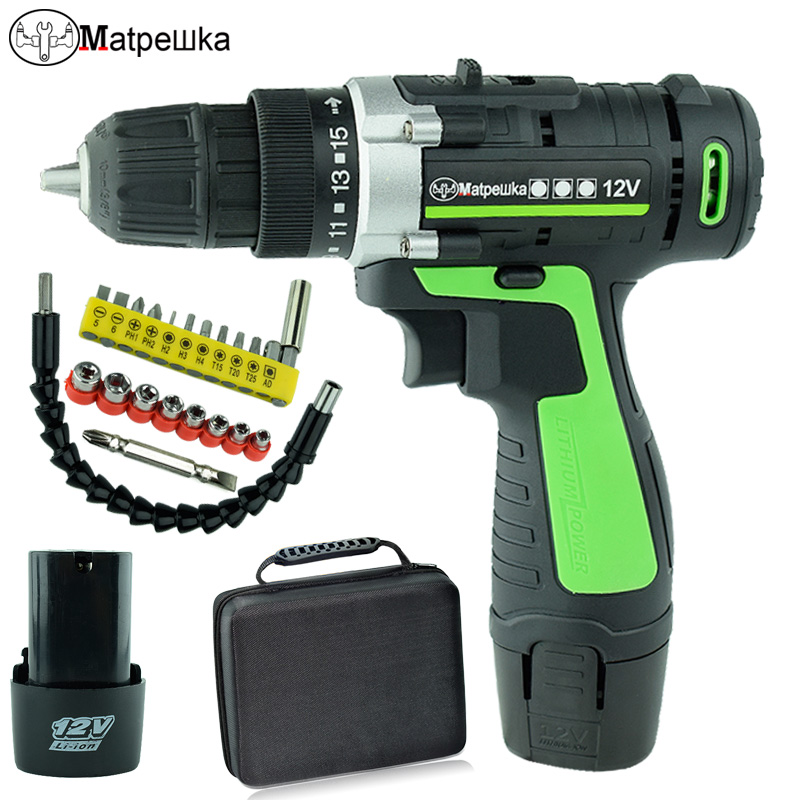 12V Electric Screwdriver Multi-function Electric Cordless Mini Drill Wireless Power Driver Power Tools +Professional tool stylish scoop neck long sleeve chevron stripe slimming women s t shirt