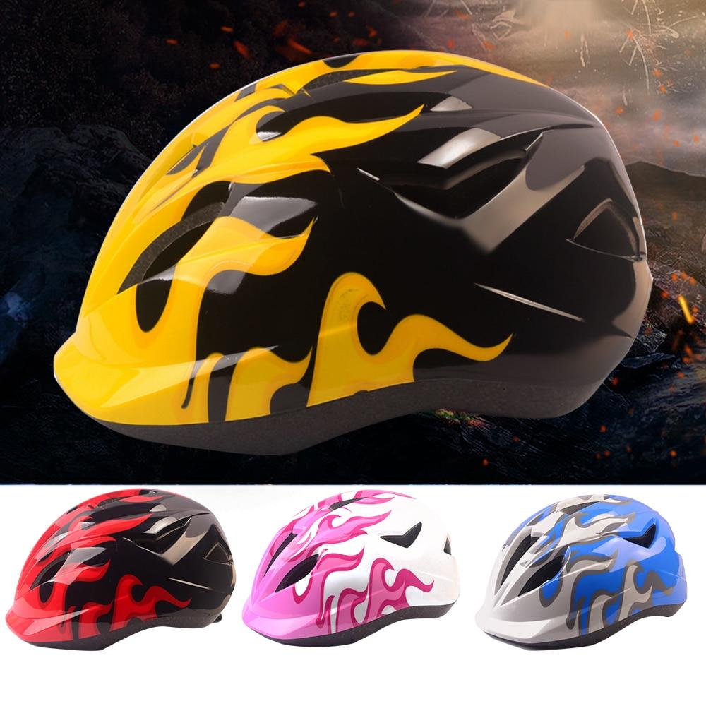 Bicycle Helmet Mountain-Bike Ultralight Carbon Safety Kids Children PVC Hats Skate MTB