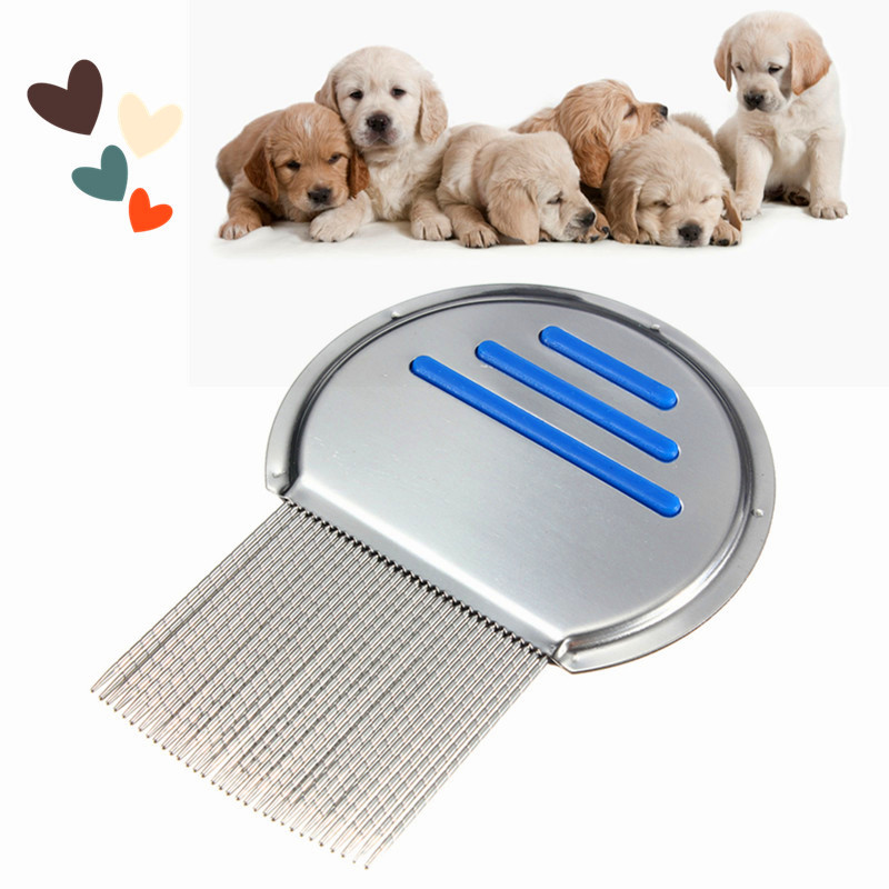 1PC <font><b>Stainless</b></font> <font><b>Steel</b></font> <font><b>Terminator</b></font> <font><b>Lice</b></font> <font><b>Comb</b></font> <font><b>Nit</b></font> <font><b>Free</b></font> <font><b>Kids</b></font> Hair Rid Headlice Super Density Teeth Remove <font><b>Nits</b></font> <font><b>Comb</b></font>