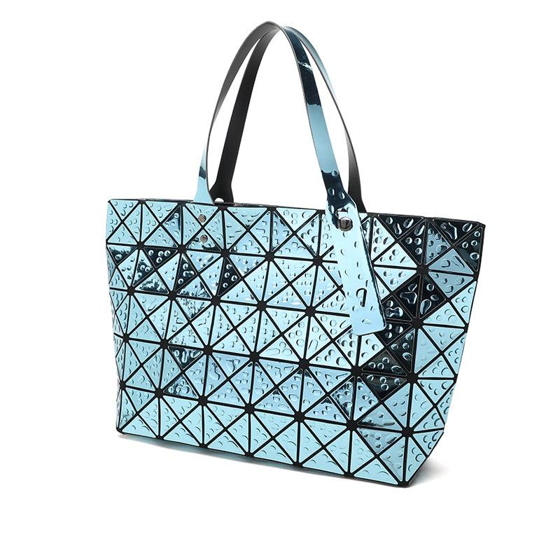 2fee5b54540d 3D waterdrop Women Bags Geometry baobao Shoulder Bag Ladies Handbags  Sequins Mirror Laser Plain Folding Female Tote Bao Purs US   39.99  piece