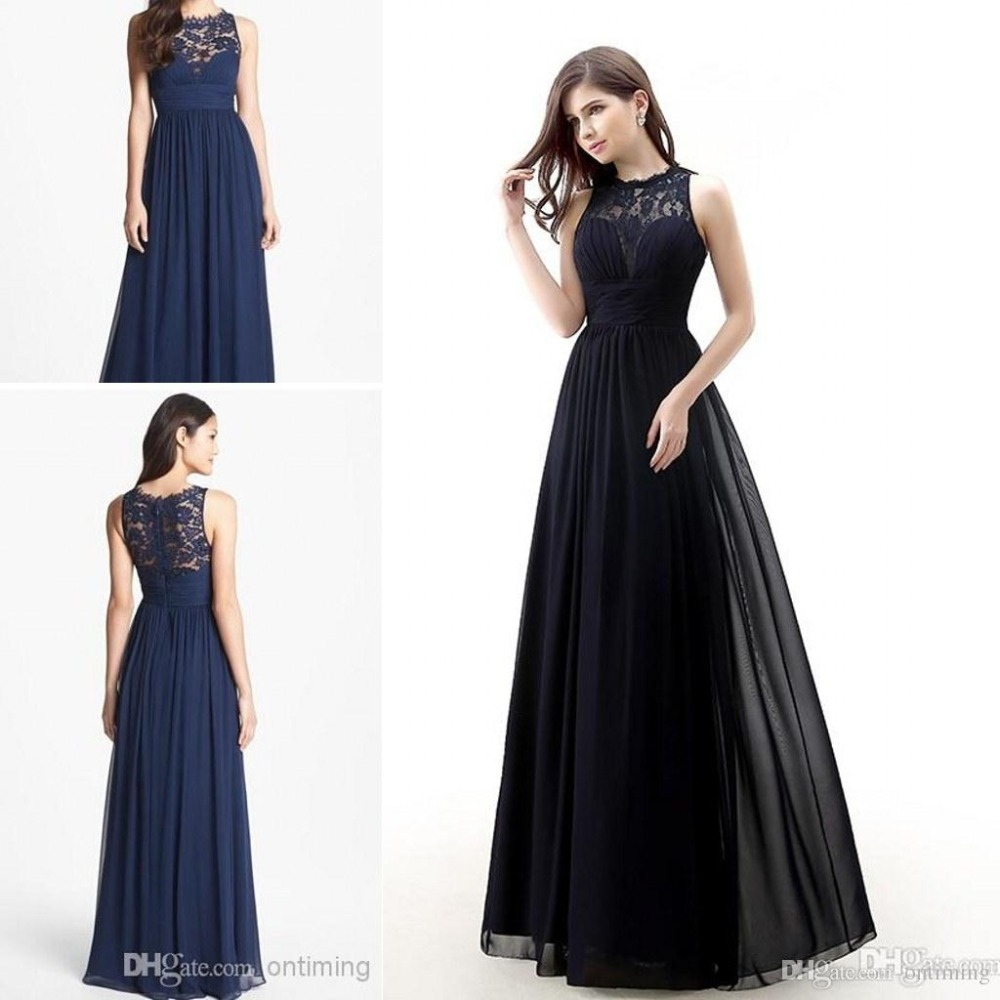 Online Get Cheap Dark Navy Blue Bridesmaid Dresses -Aliexpress.com ...