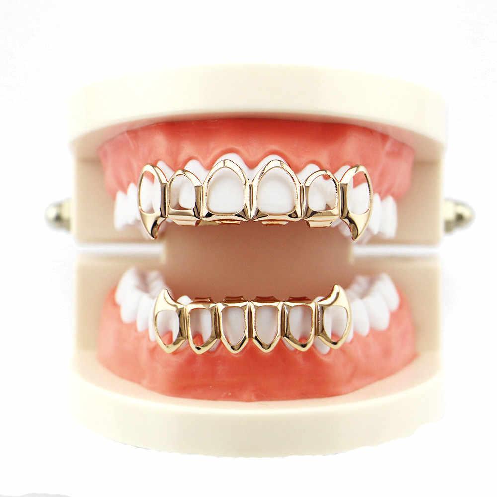 1 шт. модные зубные гриллы Топ и низ грили для рта модный съемный идеальный чехол для коррекции зубов #8