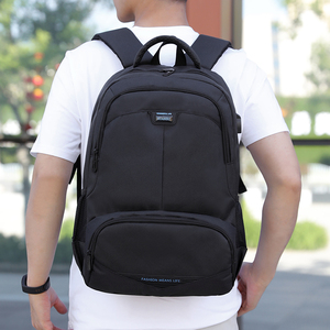 Image 2 - Fashion Backpack 2020 Men Backpack Student Charging Laptop Wear Backpack Resistant Pack SchoolBags For Teenage Boys Mochila
