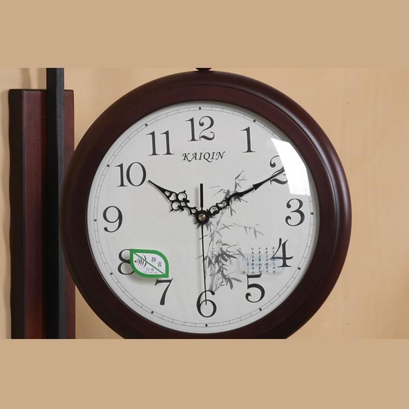 Jam Dinding Besar Ganda Sisi Dinding Antik Dekorasi Rumah Kayu Saat Jam Jam  Digital Besar Wanduhr Retro Wandklok Klokken di Wall Clocks dari Rumah    Taman ... b4a5039cd5