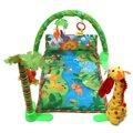 Musical Luzes de Luxo Ginásio Esteira do Jogo Infantil Do Bebê Rainforest Melodies Tummy Tempo Actividade Chão Playmat Crawl Cobertor Jogo Brinquedo