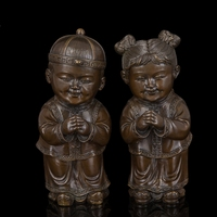 Arts Crafts Copper Festival 2015 New Year gifts bronze arts and crafts Sculptures Good luck baby traditional Chinese wedding dec
