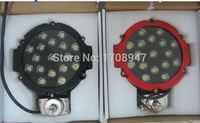 4PCS FREE 2015 Newest Model 3w High Intensity Epsitar LEDs 51w Led Work Light 12V 24V