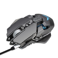 Serious Gamer Mechanical Mouse PC Gamer Mice 3200DPI LED Back Light 7 Buttons Wired Mouse Gaming For Desktop Gaming