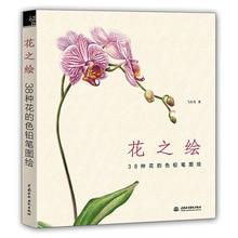 Цветной карандаш для рисования 38 видов цветок учебник