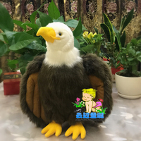 Big Stuffed Animal Plush Doll Toys Wildlife Simulation Bald Eagle High quality toy shops