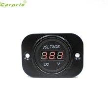 8c255c9a4f9 AUTO Acessório Da Motocicleta vermelho Display Digital Medidor de Carro  Voltímetro À Prova D  Água 12 V 24 V Painel Display LED .