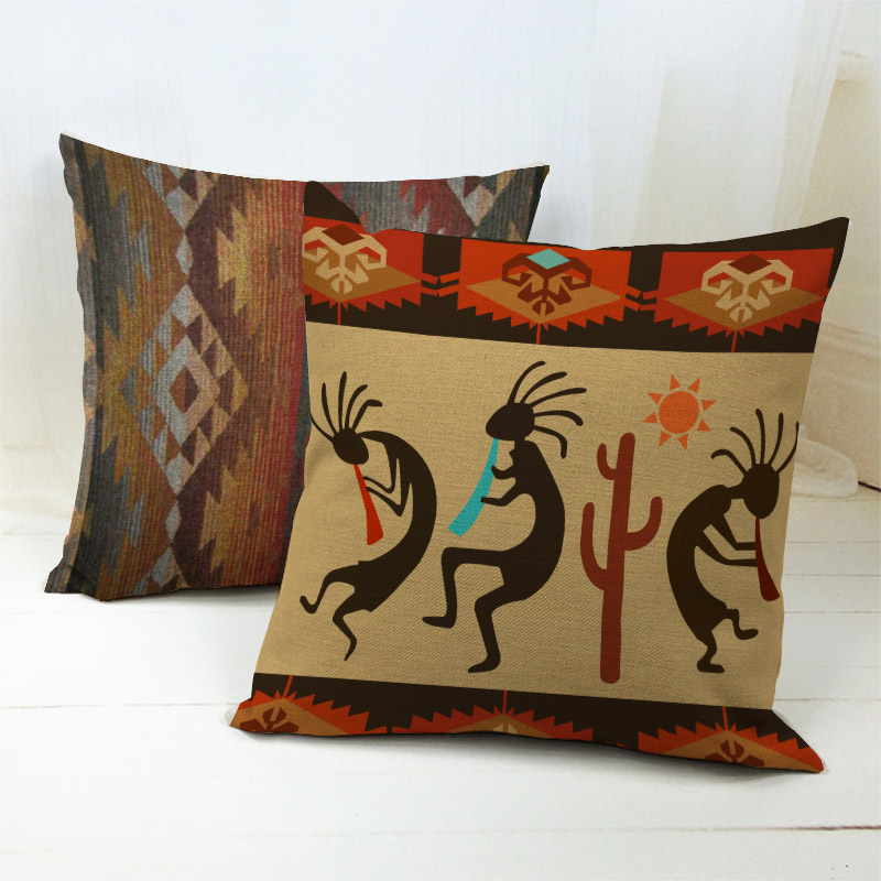 Electronic Components & Supplies Practical African National Stripe Bohemian Style Geometric Home Decorative Throw Pillow Covers Linen Ethnic Cushion Cover Case 45cm*45cm Home Decor