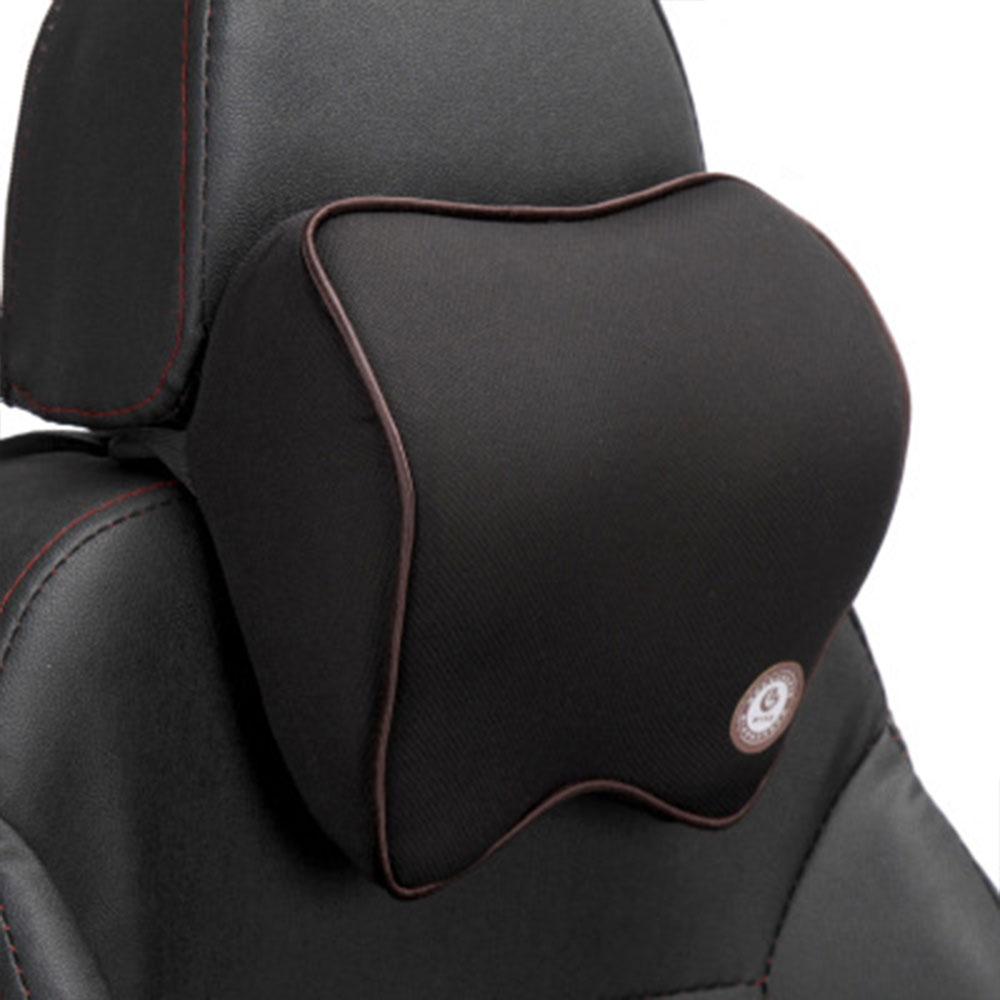 Vehemo автомобильные подушки для шеи подголовник автомобиля дышащие удобные сиденья Шейная поддержка шеи Подушка четыре сезона - Название цвета: black coffee