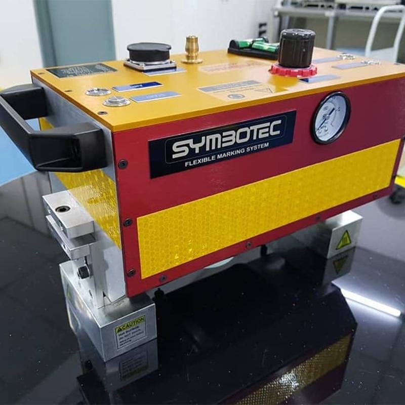 Portable Dot Peen Marking Machine Vin Number Stamping Machine 140X20Mm