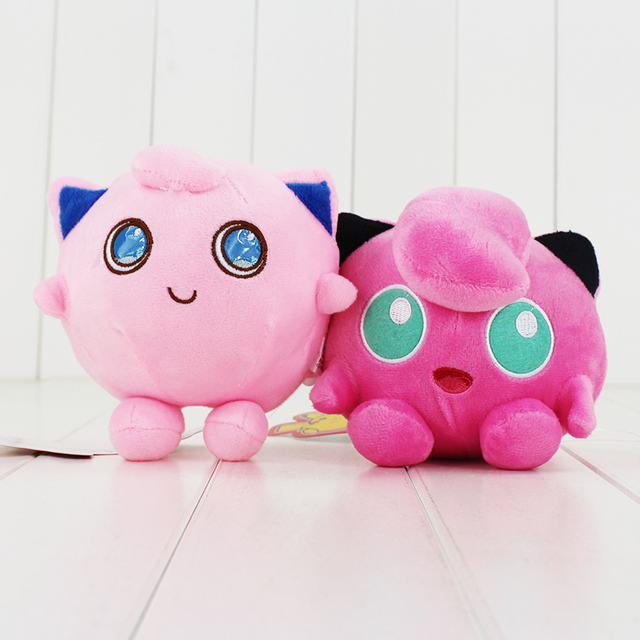 15cm Jiggly puff Plush Toys Jigglypuff Soft Stuffed Plush Dolls Baby Toys  Animal Cartoon Gift for Children 57c1a388535c