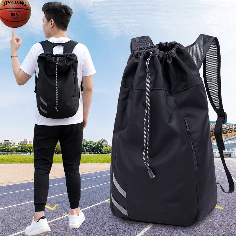 Unisex Basketball Backpack Outdoor Sport Nylon Rucksack Lightweight Camping Bag Mountaineering Molle Man Sports Football Bag