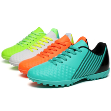 Men Low Top Sport Football Shoes Women Turf TF Soccer Outdoor Trainers  Wholesales Price 5531