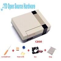 1set Mini NES NESPI CASE Retroflag With Cooling Fan Heatsink Flannel Bag For Raspberry Pi 3