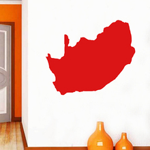 South Africa map Globe Earth Country wall vinyl sticker custom made home decoration fashion design