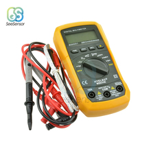 MS8233E Portable LCD Digital Multimeter Handheld LCD AC/DC Ammeter Voltmeter Ohm Tester Meter Multimeter mastech ms2108 digital clamp meter true rms lcd multimeter ac dc voltmeter ammeter ohm herz duty cycle multi tester