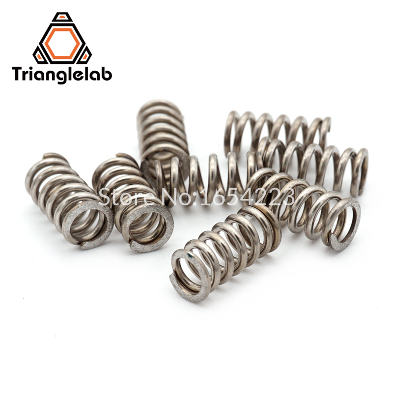 Trianglelab 3d printer Titan Extruder Strong Spring For 3D Printer Parts Extruder reprap mk8 i3 trianglelab 3d printer titan extruder new metal gear hobb hardened steel free shipping reprap mk8 i3