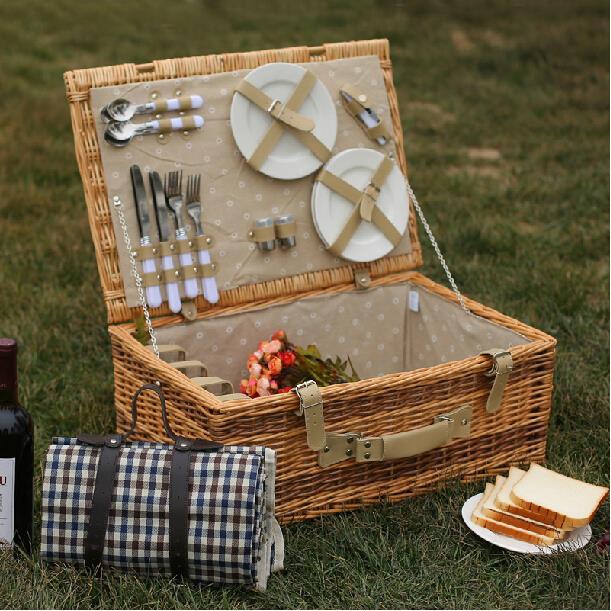 Popular vintage picnic basket buy cheap vintage picnic - Cestas de mimbre ikea ...
