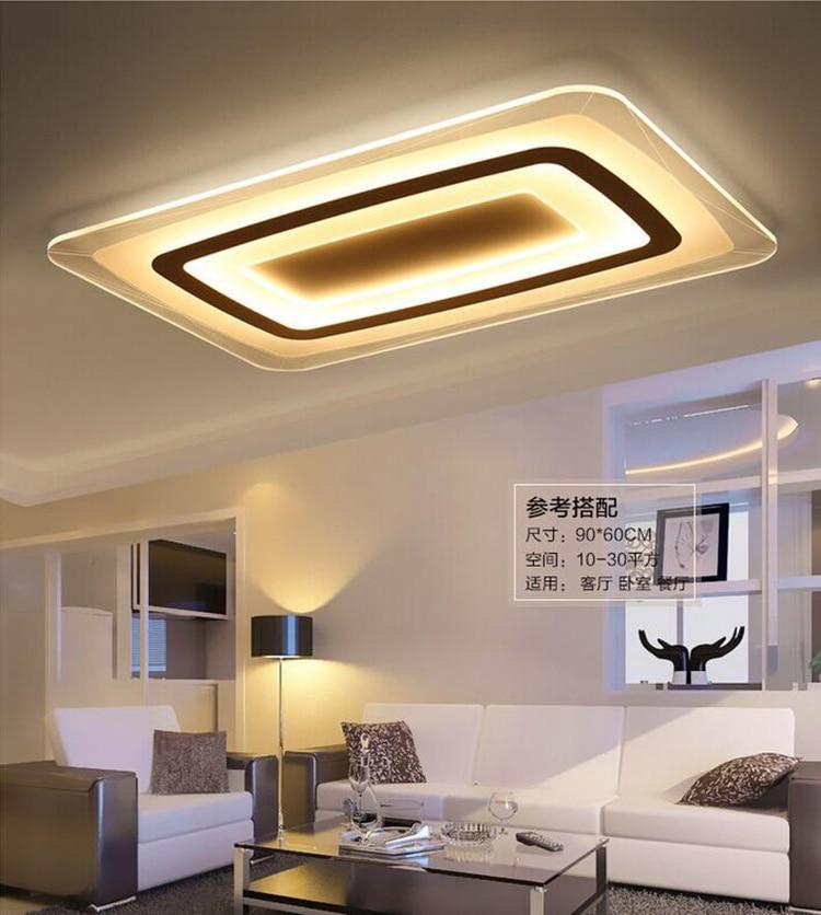 Super dunne Vierkante Plafond verlichting binnenverlichting led ...