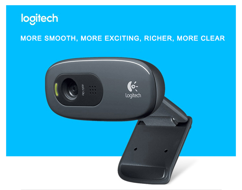 Logitech C270 HD Webcam 5