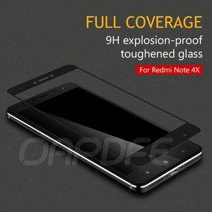Image 4 - Film de protection en verre sur le pour Xiaomi Redmi Note 4 4X5 5A Pro Redmi 5 Plus S2 4X 5A étui en verre trempé de protection décran