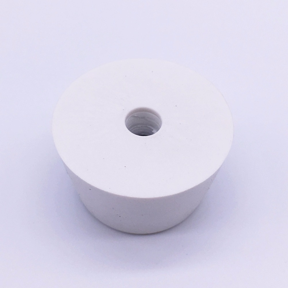 25x20x13mm Rubber Feet Bumpers Bushings For Furniture Rubber Pads Conical White Pack 50
