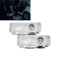 2x LED Door Courtesy Shadow Ghost Lamp Projector Light For BMW X5 2014 X6 2014